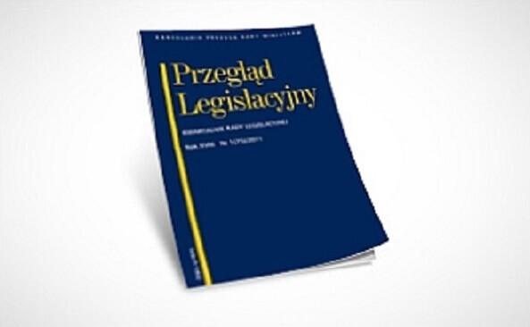 czasopismo Przegląd Legislacyjny