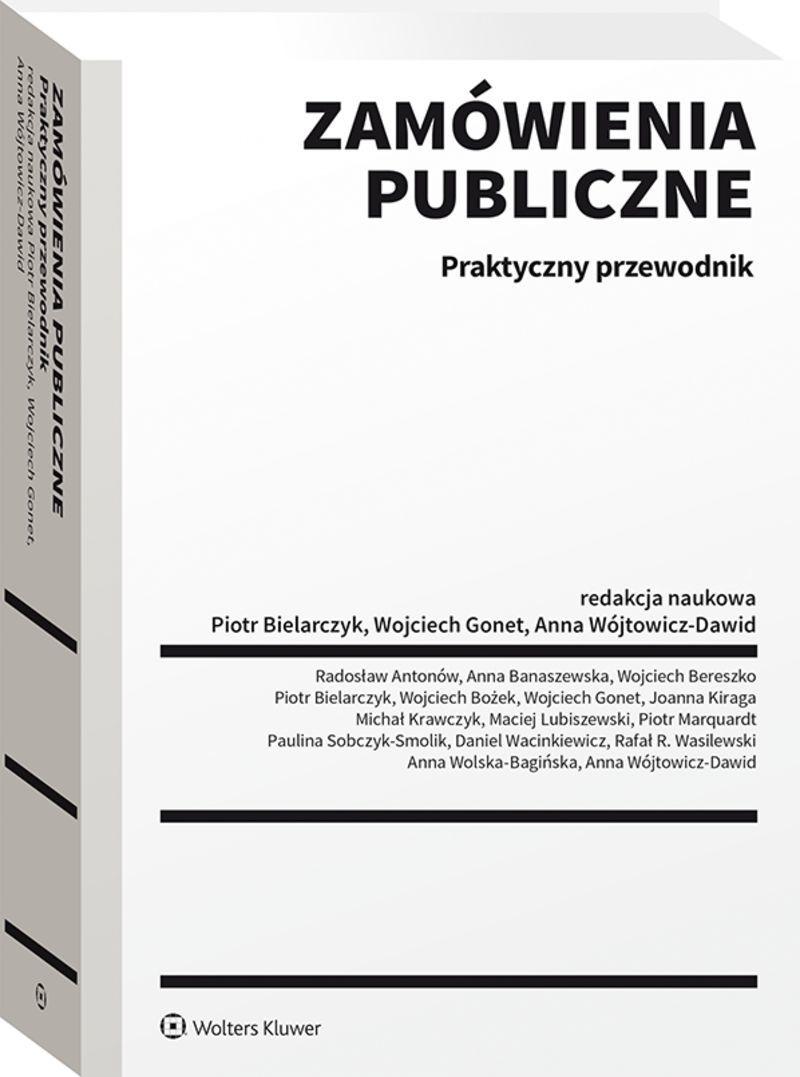 okładka książki Zamówienia publiczne